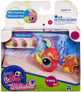 Littlest Pet Shop Walkables Figure #2476 Fish [Tail Wiggles!]