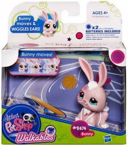 Littlest Pet Shop Walkables Figure #2474 Bunny