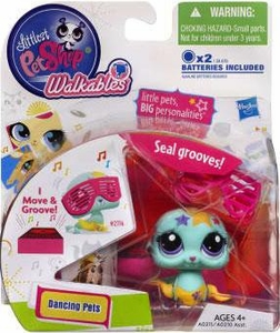 Littlest Pet Shop Walkables Dancing Figure Seal