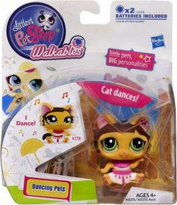 Littlest Pet Shop Walkables Dancing Figure Cat