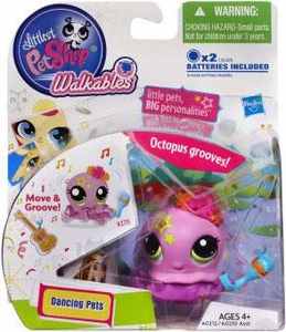 Littlest Pet Shop Walkables Dancing Figure Octopus