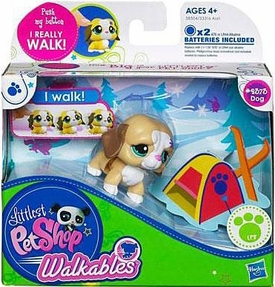 Littlest Pet Shop Walkables Figure #2373 Dog [Light Brown]