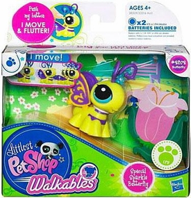 Littlest Pet Shop Walkables Figure #2372 Special Sparkle Butterfly