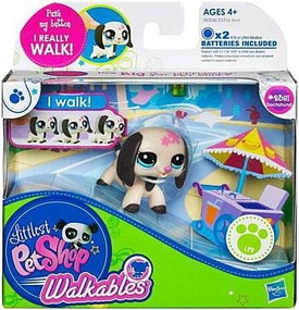 Littlest Pet Shop Walkables Figure #2381 Dachshund