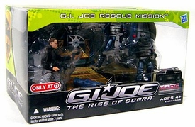 GI Joe Movie Rise of Cobra Exclusive 4-Pack GI Joe Rescue Mission [Snake Eyes, Conrad Duke Hauser & 2 Neo-Vipers]