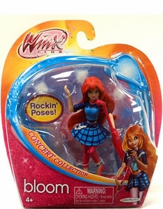 Winx Club Concert 3.75 Inch Action Doll Bloom