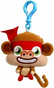 Moshi Monsters Moshlings Backpack Clip Plush Figure Chop Chop