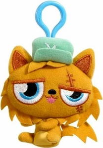 Moshi Monsters Moshlings Backpack Clip Plush Figure Gingersnap