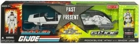 GI Joe Movie The Rise of Cobra Exclusive Vehicle Rockslide A.T.A.V. with Snow Job Action Figure [Past & Present]