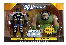 DC Universe Justice League Unlimited Exclusive Action Figure 2-Pack Darkseid & Kalibak