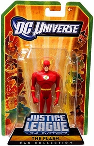 DC Universe Justice League Unlimited Action Figure Flash with Lightning Bolt [Barry Allen]