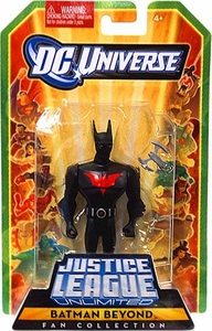 DC Universe Justice League Unlimited Fan Collection Action Figure Batman Beyond with Future Batarang