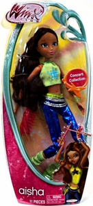 Winx Club 11.5 Inch Basic Fashion Doll Concert Aisha