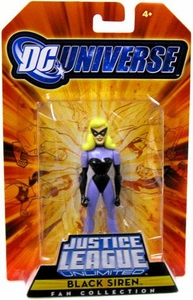 DC Universe Justice League Unlimited Exclusive Justice Guild Action Figure Black Siren