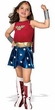 Comic Book Super Heroes Kids Costume Justice League Deluxe Wonder Woman (Child Size) #882312