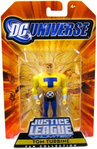 DC Universe Justice League Unlimited Exclusive Justice Guild Action Figure Tom Turbine