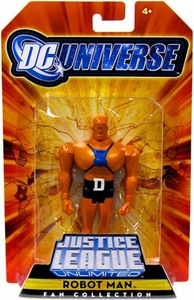 DC Universe Justice League Unlimited Exclusive Doom Patrol Action Figure Robot Man