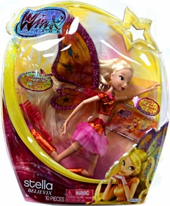 Winx Club 11.5 Inch Deluxe Fashion Doll Believix Stella