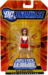 DC Universe Justice League Unlimited Exclusive Doom Patrol Action Figure Elasti-Girl