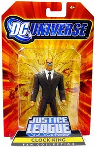 DC Universe Justice League Unlimited Exclusive Gotham City Criminal Action Figure Clock King