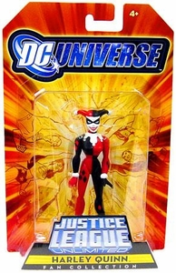 DC Universe Justice League Unlimited Exclusive Gotham City Criminal Action Figure Harley Quinn
