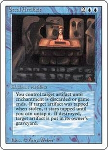 Magic the Gathering Revised Edition Single Card Uncommon Steal Artifact