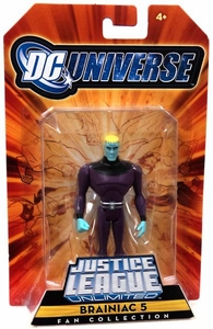 DC Universe Justice League Unlimited Exclusive Legion of Super Heroes Action Figure Brainiac 5