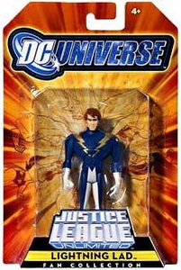 DC Universe Justice League Unlimited Exclusive Legion of Super Heroes Action Figure Lightning Lad