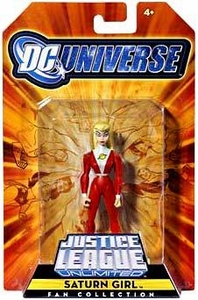 DC Universe Justice League Unlimited Exclusive Legion of Super Heroes Action Figure Saturn Girl