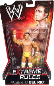 Mattel WWE Wrestling Extreme Rules PPV Series 10 Action Figure Alberto Del Rio BLOWOUT SALE!