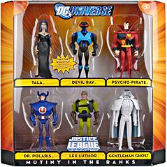 DC Universe Justice League Unlimited Exclusive Action Figure 6-Pack Mutiny in the Ranks [Lex Luthor, Tala, Devil Ray, Dr. Polaris, Psycho-Pirate, Gentleman Ghost]