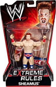Mattel WWE Wrestling Extreme Rules PPV Series 10 Action Figure Sheamus United States Champion Attire!