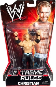 Mattel WWE Wrestling Extreme Rules PPV Series 10 Action Figure Christian BLOWOUT SALE!
