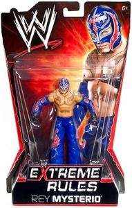 Mattel WWE Wrestling Extreme Rules PPV Series 10 Action Figure Rey Mysterio BLOWOUT SALE!