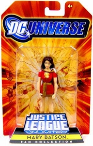 DC Universe Justice League Unlimited Exclusive Shazam Family Action Figure Mary Batson [Mary Marvel]