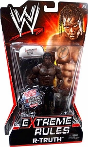Mattel WWE Wrestling Extreme Rules PPV Series 10 Action Figure R-Truth [Limited Edition 1 of 1000] With Extreme Rules Chair!