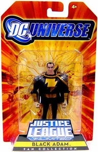 DC Universe Justice League Unlimited Exclusive Shazam Family Action Figure Black Adam
