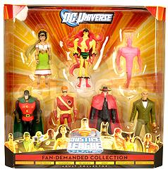 DC Universe Exclusive Justice League Unlimited Action Figure 7-Pack Fan Demanded Collection [Gypsy, Creeper, Thunderbolt, Dr. Midnite, Speedy, Crimson Avenger & Johnny Thunder]