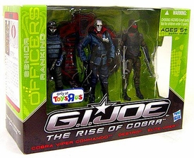 GI Joe The Rise of Cobra Exclusive Action Figure 3-Pack Destro, Cobra Viper Commando & Elite-Viper