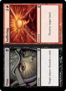 Magic the Gathering Duel Decks: Ajani vs. Nicol Bolas Single Card Black Uncommon #72 Pain