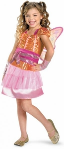 Winx Club Deluxe Child Costume #44457 Stella [Girls Medium 7-8]