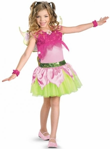 Winx Club Deluxe Child Costume #44460 Flora [Girls Small 4-6x]