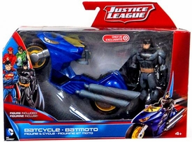 Justice League Exclusive Vehicle & Figure Batman with Batcycle