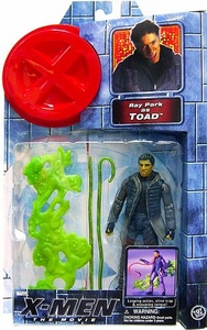 X-Men Movie Toy Biz Action Figure Ray Park as Toad [Slime Trap & Tongue]