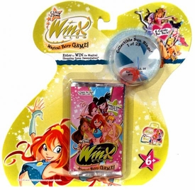 Winx Club Circle of Power Booster Pack with Ring [6 cards]