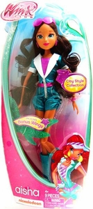 Winx Club 11.5 Inch Basic Fashion Doll City Aisha