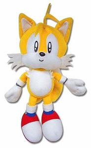 Sonic the Hedgehog GE Animation 8 Inch Plush Figure Tails