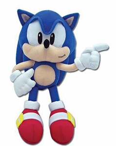 Sonic the Hedgehog GE Animation 8 Inch Plush Figure Sonic the Hedgehog
