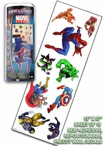 Marvel Heroes Wall Stars Pack of 10 Wall Decals