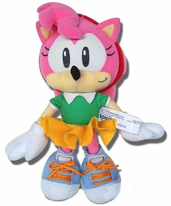 Sonic the Hedgehog GE Animation 8 Inch Plush Figure Classic Amy